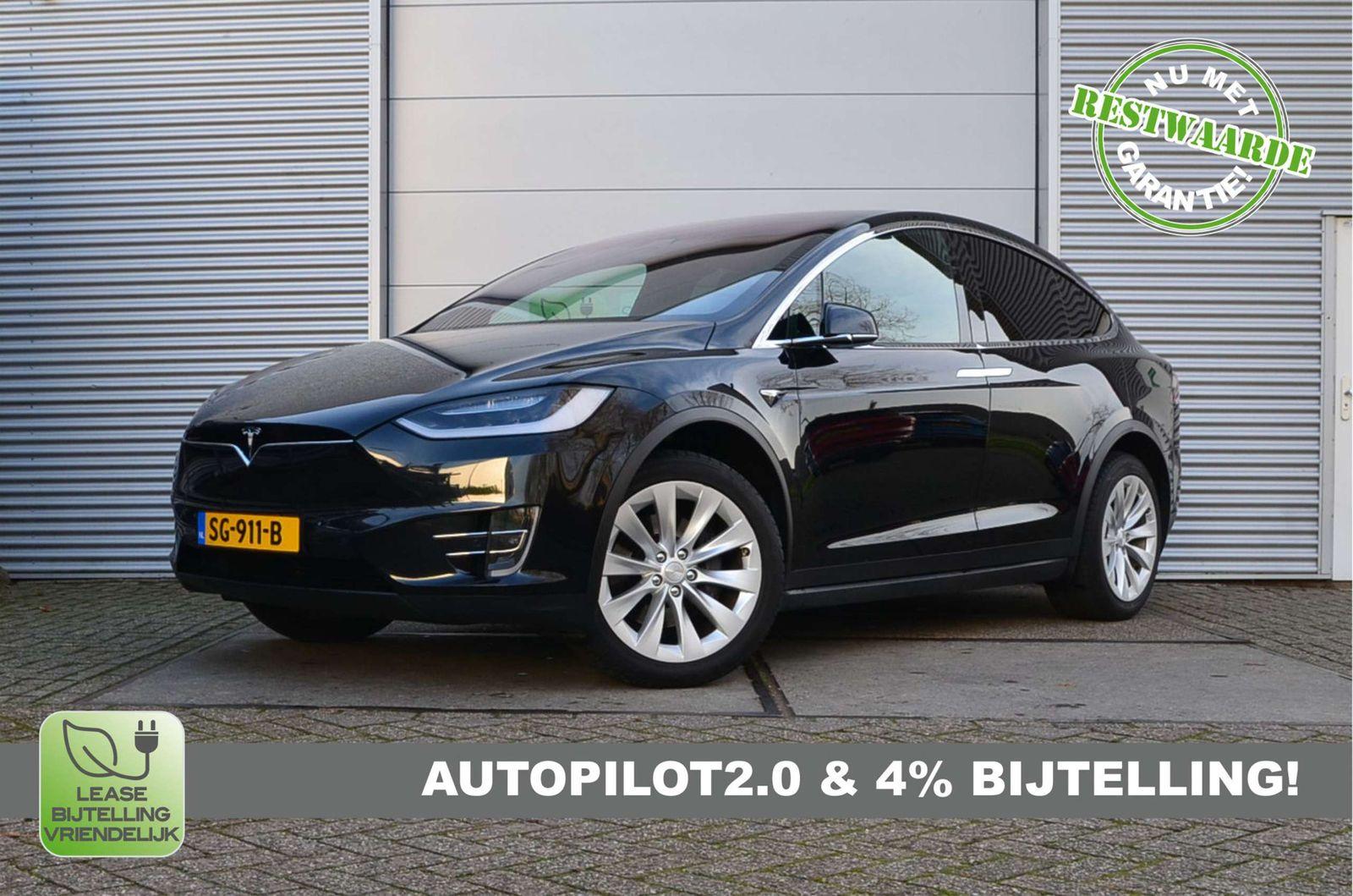 Tesla Model X Awd 307 Kw Carvago Com